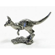 Australian Made Pewter Kangaroo 30 mm High