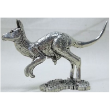 Australian Made Pewter Kangaroo 55 mm High