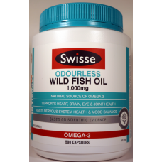 Swisse Ultiboost Odourless Wild Fish Oil - 1000mg